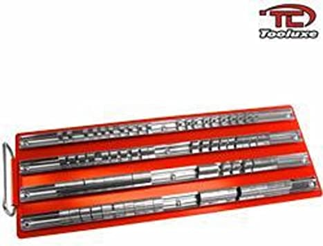 """80pc Socket Rack Tray Holder Metal Raile for 1//4/"""" 3//8/"""" 1//2/"""" inch Drive Sets"""