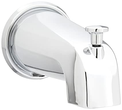 Danze D606225 Wall Mount Tub Spout with Diverter, 5 1/2-Inch, Chrome ...