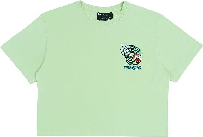 Camisa Verde Rick y Morty