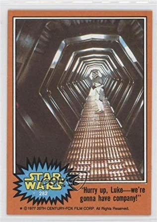 Hurry Up Luke Were Gonna Have Company Trading Card 1977