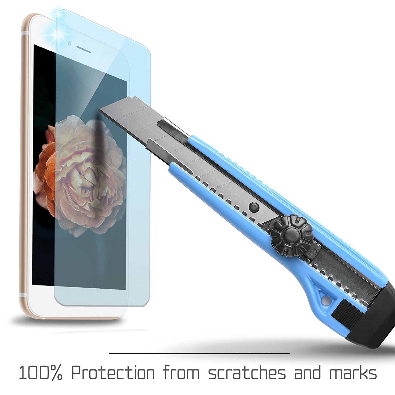 ,Transparente Weideworld Protector de Pantalla para Samsung Galaxy J7 Pro 2017 2-Pack Anti-Golpe 9H Dureza Samsung Galaxy J7 Pro 2017 Cristal Templado Vidrio Templado