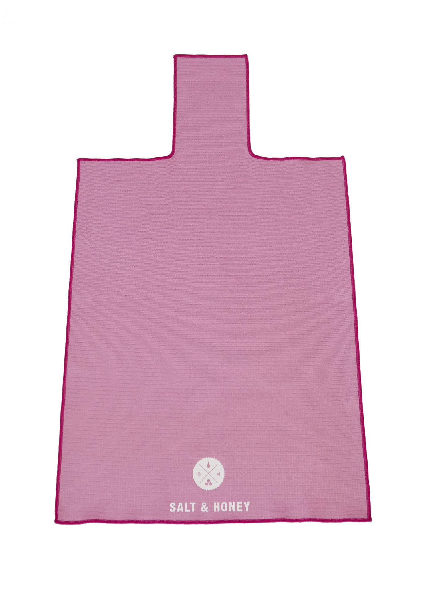Salt & Honey Non-Slip Pilates Reformer Mat Towel (Pink)