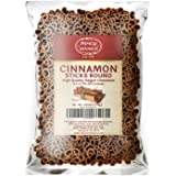 Spicy World Cinnamon Sticks 2 Pound Bulk Bag - 100 to 150 Sticks - Strong Aroma, Perfect for Baking, Cooking & Beverages - 3+