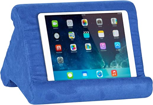 Grau E-Reader und Handys VECELO Tablethalter Laptop-St/änder Kissen-St/änder Buchst/änder Lesest/änder f/ür Tablets