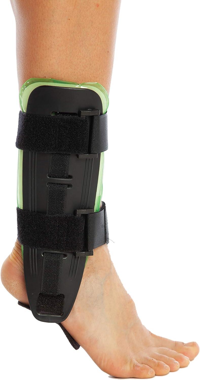 Soporte de air para tobillo, apoyo para lesiones de tobillo, esguinces, fracturas de ligamentos