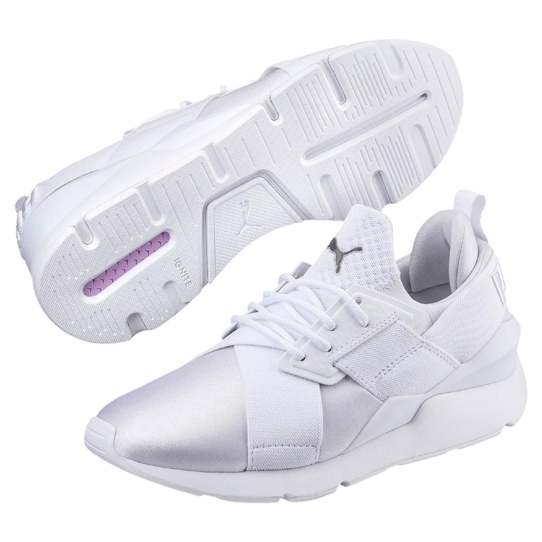 Elegante Form Puma Schwarz Damen Sneaker PUMA MUSE X STRP ST