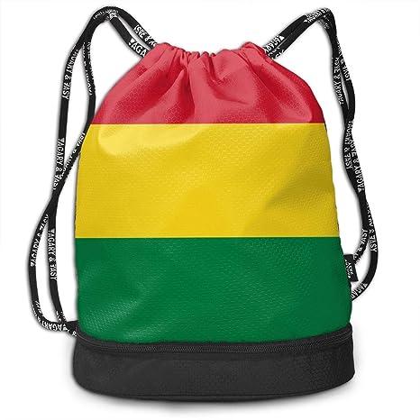 Lion Drawstring Backpack Rucksack Shoulder Bags Training Gym Sack For Man And Women