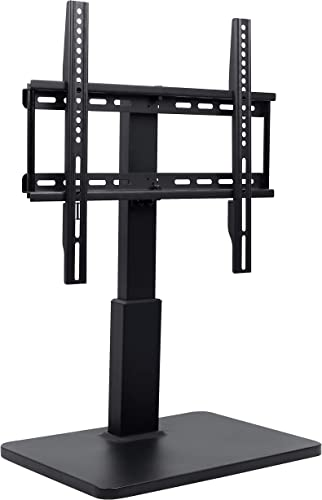 DYNAVISTA Universal Swivel TV Stand with Mount – Adjustable Height Table Top TV Stand for 32 to 55 inch LCD LED TV Flat Screens and Monitors, VESA 400 x 400 mm Compatible and 55 Lbs Capacity