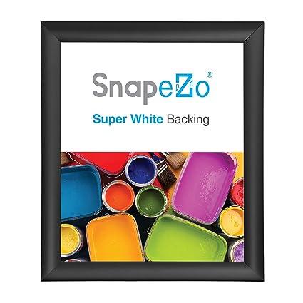 Amazoncom Snapezo Poster Frame 17x22 Inches Black 1 Aluminum