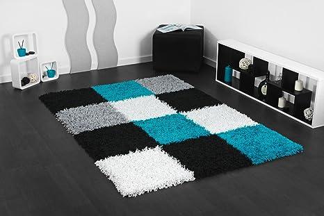 Tappeto Pelo Lungo Turchese : Tappeto shaggy turchese tappeti per camera da letto color