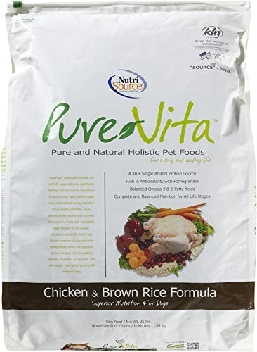 Tuffy S Pet Food 131630 Tuffy Pure Vita Chicken And Brown Rice Dry Food For Dog