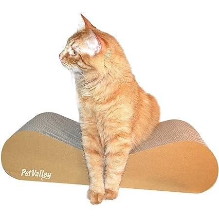 Rascador para gatos 100% Made in Italy | Producto de cartón corrugado, también es ideal como una cama y jugando | Gimnasio y lugar conveniente para ...