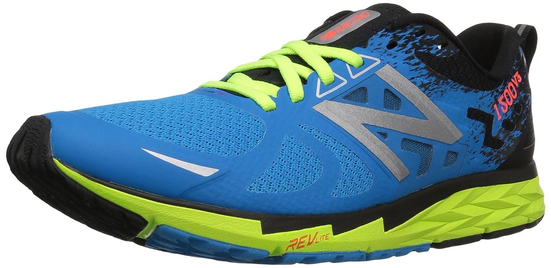 New Balance Men's M1500v3 Running Shoe B01FSDMHY0 12 2E US|Electric Blue/Lime Glow/Black