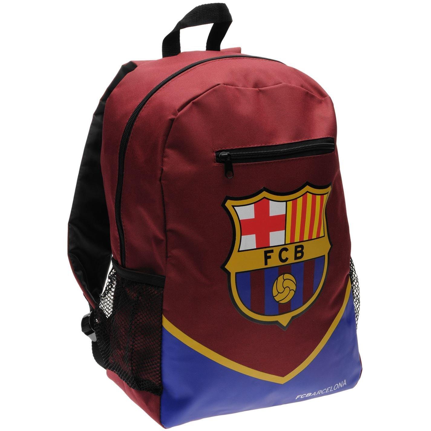 Barcelona  Red blueee Football Club Backpack Soccer Team Bag Rucksack H 42 x W 38 x D 20 (cm) Glasgow Rangers  blueee White