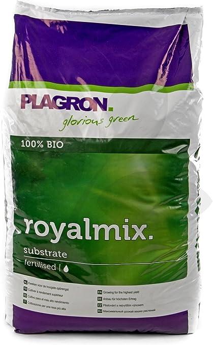Sustrato / Tierra para el cultivo de Plagron RoyalMix (50L): Amazon.es: Jardín