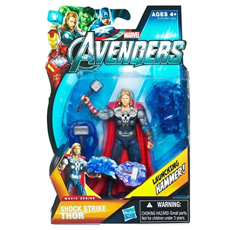 amazon com marvel avengers movie 4 inch action figure shock strike