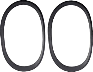 ZVac Replacement Vacuum Belts - Hoover Style Elite Flat - Replaces Parts #AH20080, 38528040 & Style 80- Compatible with Hoover Elite Rewind Bagless Upright Vacuum Cleaners - 2 Pack