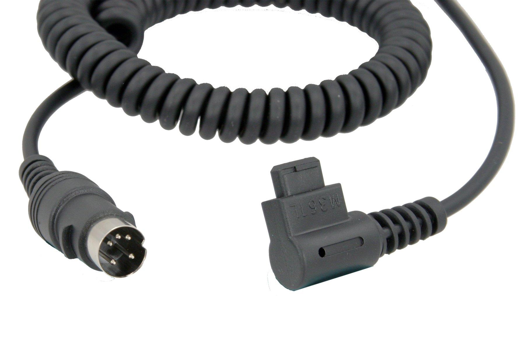 Quantum CZ2 Locking Flash Cable for Turbo Battery (Fits Canon 430EZ, 480G, 540EZ, 550EX, 580EX, 580EX II, MR-14EX, MT-24EX) by Quantum