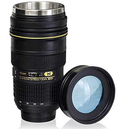 Review Coffee Mugs,Camera Lens Coffee