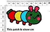 Cute Pretty Colorful Worm Cartoon Chidren Kids