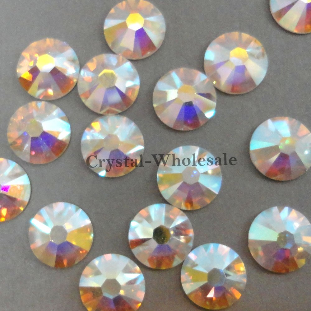 1440 Swarovski NEW 2088 Xirius 16ss 4mm flatback rhinestones ss16 CRYSTAL AB F from Mychobos (Crystal-Wholesale) by Crystal-Wholesale (Image #1)