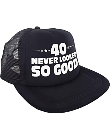 """27783f757b49b """"40 Never Looked So Good"""" Hat – Happy 40th Birthday Party Supplies"""