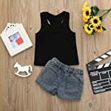 Toddler Baby Girls Letter Print Sleeveless Vest