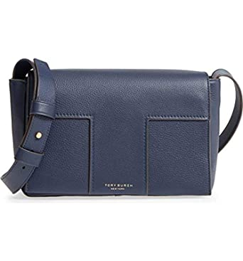 f232b22d3b1a Amazon.com  Tory Burch Block-T Ladies Small Leather Shoulder Bag ...