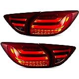 USEKA マツダ CX-5用 テールライト テールランプ リアライト 左右セット4灯 新品 13以後LED レードクリア FOR MAZDA CX5 2013-UP LED TAIL LIGHT