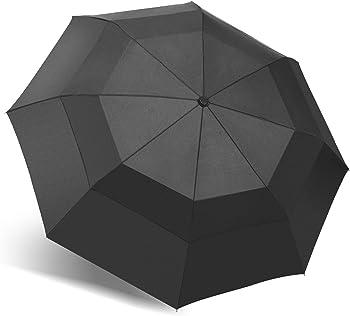 Oak Leaf Windproof Compact Rain Umbrella