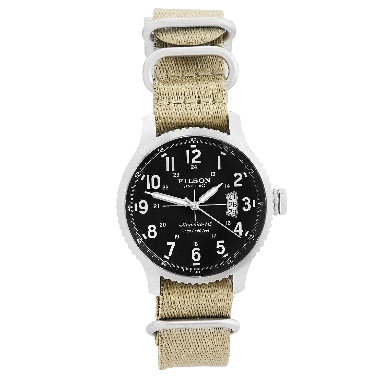 フィルソンby Shinola Mackinawフィールドメンズ腕時計ステンレスMade in USA f012072831 B078SX9WFH
