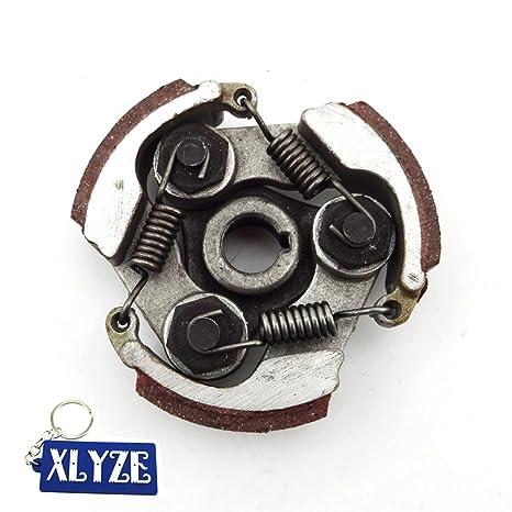 XLYZE Almohadillas de embrague de aleación completa para 47cc 49cc Gas Mini Moto de bolsillo Dirt