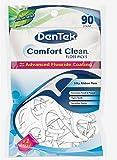 DenTek Comfort Clean Silk Floss Picks, Fresh Mint, 90 Count
