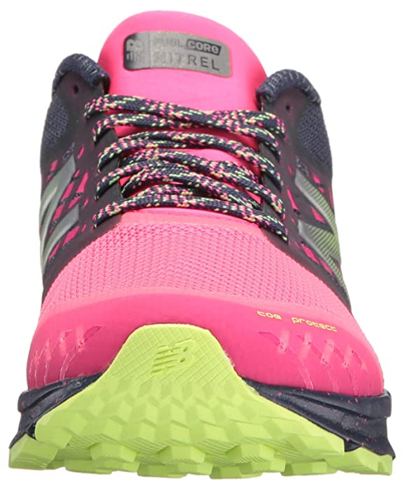 Amazon.com | New Balance Womens Nitrel v1 FuelCore Trail Running Shoe, Grey/Pink, 5.5 B US | Trail Running
