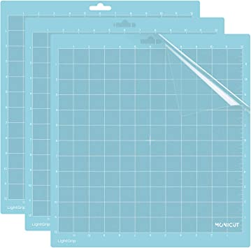 Standardgrip Silhouette Cutting Mat 12 x 12 inch Cameo Cutting Mat Self Healing Cutting Mat for Craft Sewing Scrapbooking