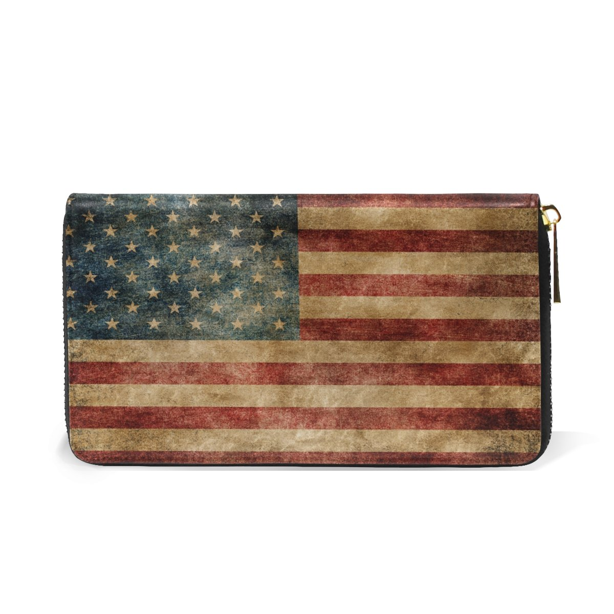Retro Vintage Usa Flag Long...