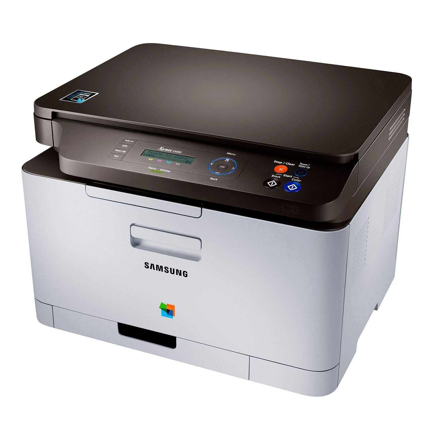Amazon.com: Samsung Xpress C460W Wireless Multifunction Color Laser Printer:  Office Products