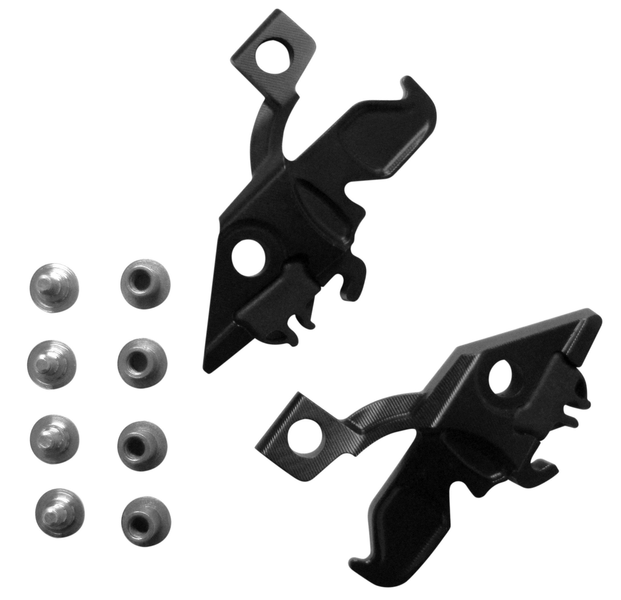 Leatt Spacing Pin Pack DBX/GPX Pro Black 0mm