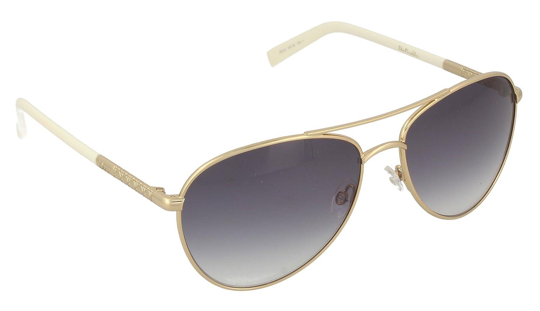 Christian Dior Damen Sonnenbrille DIORPICCADILLY2 JJ J5G, Gold (Gold/Grey SF), 59