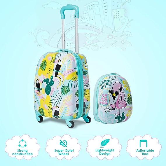 Amazon.com: HONEY JOY Juego de equipaje para niños, mochila ...