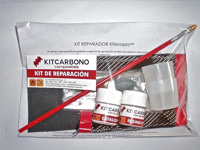 Kit Reparador de Fibra de Carbono Kitevopro twill 2/2: Amazon.es: Deportes y aire libre