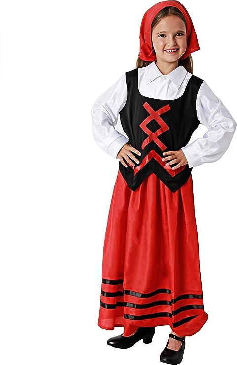 Costumizate! Disfraz de pastora para niña Especial de Navidad ...