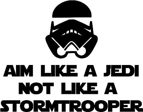 Aim like a Jedi and not a Trooper