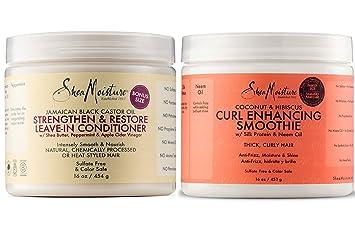Amazoncom Shea Moisture Coconut And Hibiscus Curl Enhancing
