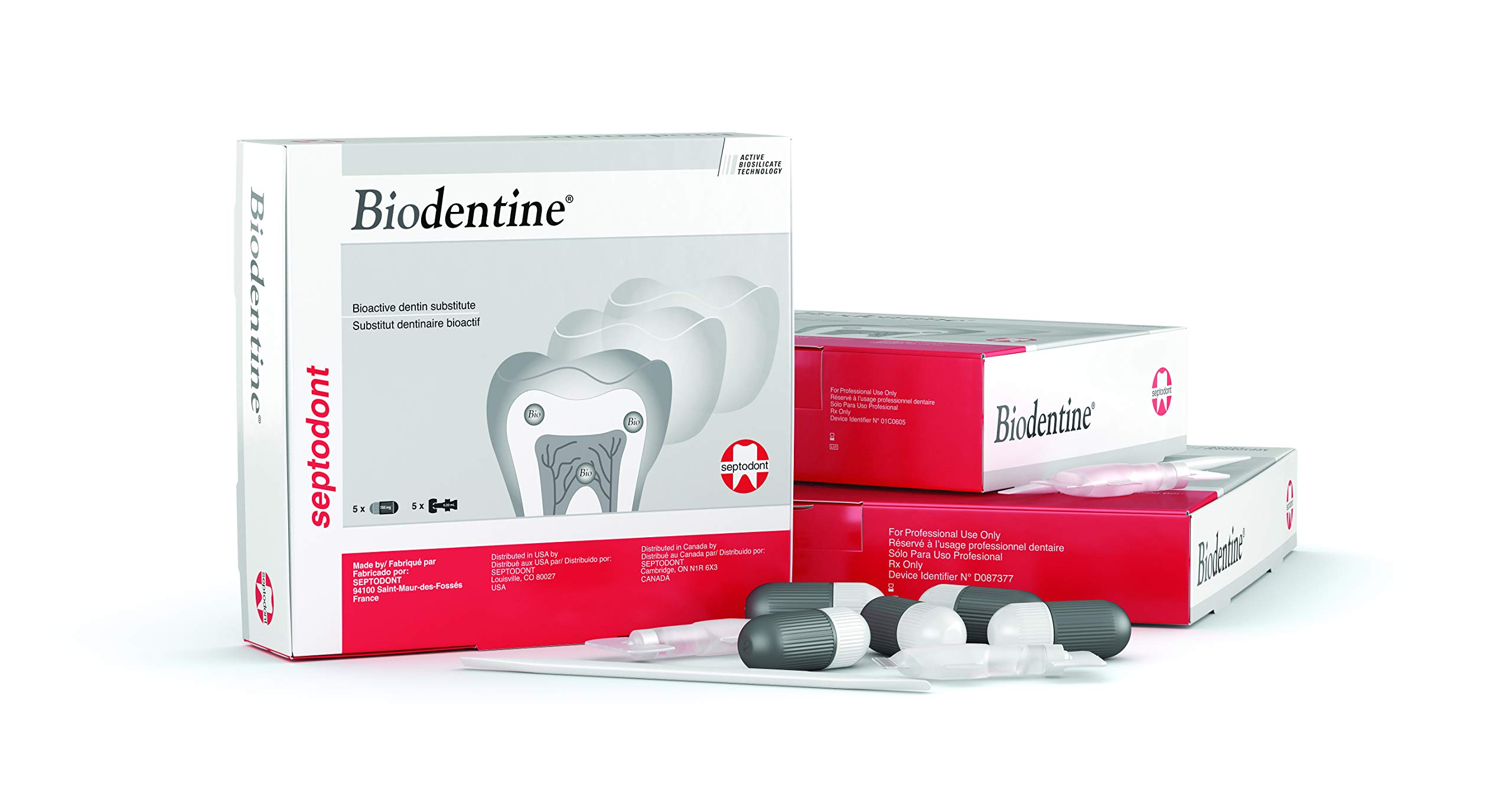 Septodont Biodentine Replacement Material, 15-700mg Capsules, 15-.18mL Unit Does, 1/bx 01-C0600 by Septodont