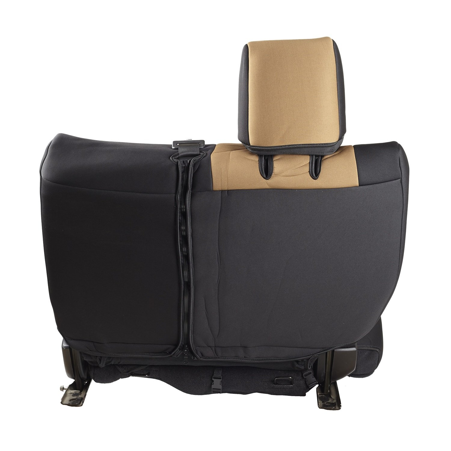 Smittybilt 47924 Neoprene Tan Rear Seat Cover