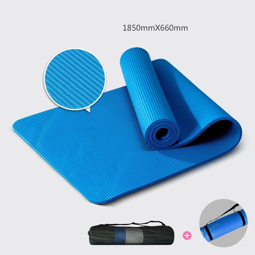 YJD Tasteless Yogamatte, 185cmX66cm Yogamatte, Anfänger-Eignungmatten, verlängernde Eignung-Matten-Yogamatte