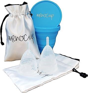 Menocup - Copa menstrual, pack doble