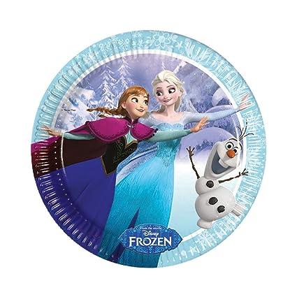 Frozen Ice Skating-Paper Plates Disney Frozen Theme Birthday Party  Kids Party Supplies  sc 1 st  Amazon.in & Buy Frozen Ice Skating-Paper Plates Disney Frozen Theme Birthday ...
