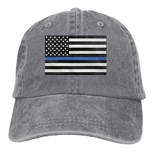 Infant Support The Police Thin Blue Line American Flag Cute Baby Onesie  Bodysuit Snapback Cotton Hat d40362ee94e